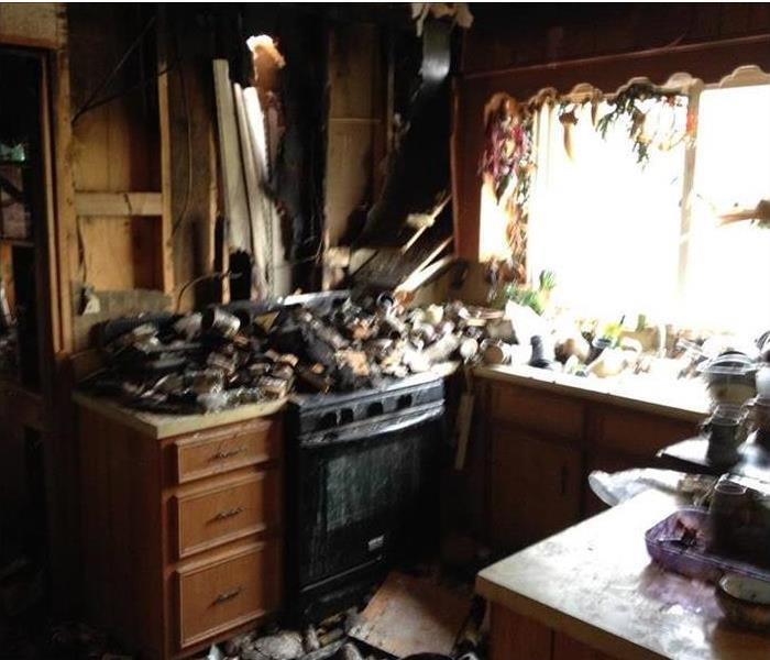 Kitchen Flare-up and Cleanup in Tucson Before