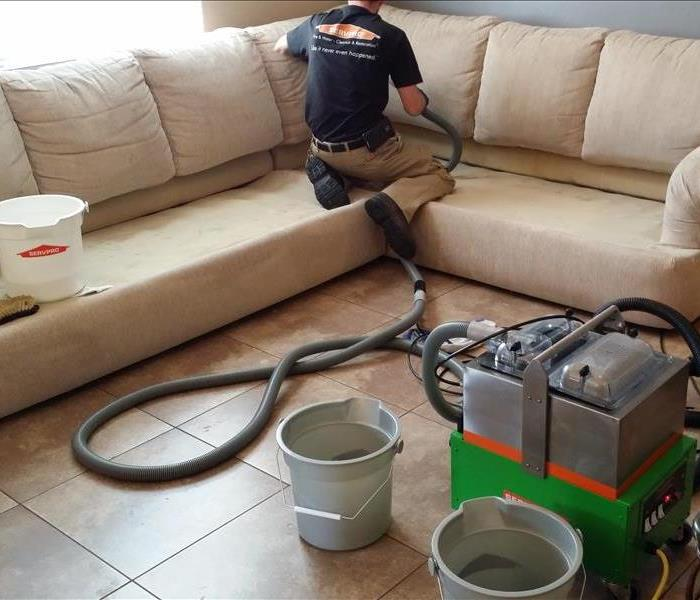 SERVPRO Upholstery Cleaning