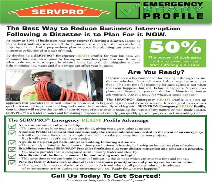 Commercial SERVPRO's ERP Program Mitigates Water Damage In Green Valley Business Centers