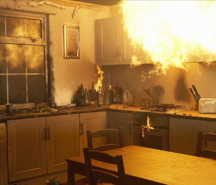 Fire Damage We Work Quickly To Restore Your Tuscon Home After Fire Damage