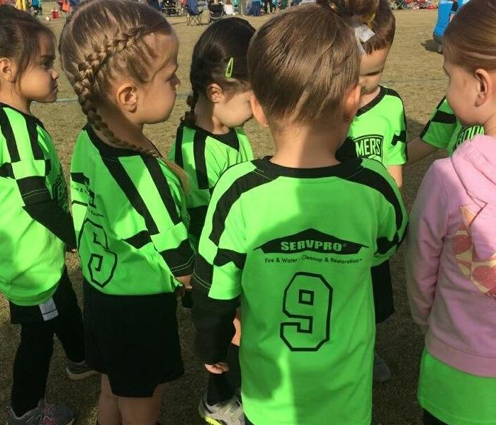Community SERVPRO Green Valley Soccer Sponsor